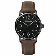 Wenger Urban Metropolitan Reloj de cuarzo acero inoxidable