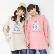 &LOVE ミニ裏毛のパフュームプリントチュニック【QVC】40代・50代レディースファッション