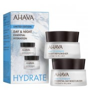 AHAVA Time To Hydrate Day & Night Essential Hydration Kit Packung mit 2 x 15 ml