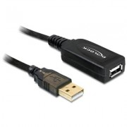 DELOCK cable prolongador USB 2 0 15 metros