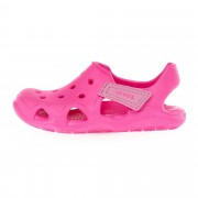 Crocs SWIFTWATER WAVE Kinder Gr.25/26 - Outdoor Sandalen - pink-rosa