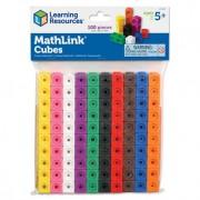 SET DE CONSTRUCTIE - MATHLINK (100 PIESE) - LEARNING RESOURCES (LER4285)