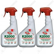 Pachet 3 bucati - Sano K2000 , insecticid universal, otrava gandaci, plosnite, purici, muste, tantari, molii, omizi, greieri ( echivalent Regent ) 3 x 750ml