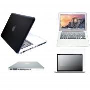 Case Carcasa + Protector De Teclado / Puertos / Pantalla Para Macbook Pro 13'' Model (A1278) -Negro Degradado