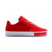 Puma X DP Court Platform S red