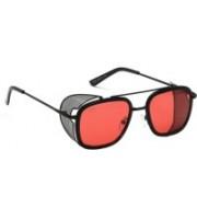 I-GOG Retro Square Sunglasses(Pink)