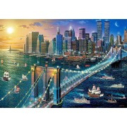 Puzzle Castorland - New York Brooklyn Bridge, 500 Piese