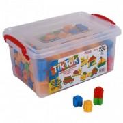 Joc de construit mozaic Tik Tak- cuburi 230 piese