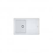 Chiuveta Franke Basis BFG 611-78 alba, cu ventil, 114.0531.803