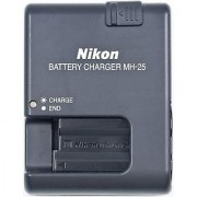 Compatible EN-EL15 Battery MH-25 Charger for Nikon D7000 D800 D800E D7000