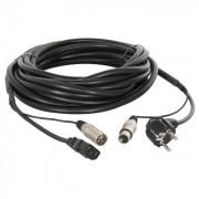 Skytec Csatlakozó és szignál XLR kábel, 15 m (Sky-176.646)