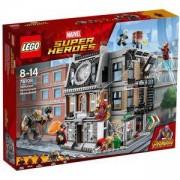 Конструктор ЛЕГО СУПЕР ХИРОУС - Схватка в Светилището, LEGO Marvel Super Heroes, 76108