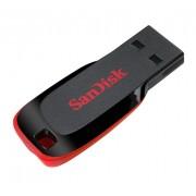 USB Flash 64GB 2.0 SanDisk SDCZ50-064G-B35 Blade Teardrop