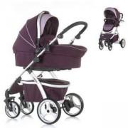 Бебешка комбинирана количка Chipolino Up and Down, аметист, 350847