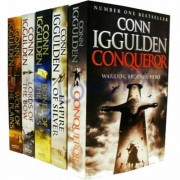 Conn Iggulden Series 5 Books Collection Set Wolf of the Plains,Lords of the Bow