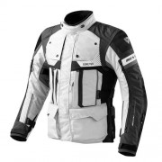 REV'IT! Defender Pro GTX jacket, Gore-Tex® motorjas heren, Grijs Zwart