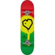 Blueprint Skateboard Complet Blueprint Spray Heart (Rasta)