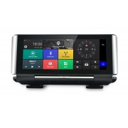 2 in 1 Sistem de Navigatie GPS Navitel SuperTrack + 2 Camere Video Auto, Ecran 7 inch, FullHD 1080P, 5MP + Card 16GB Cadou! Model 2019