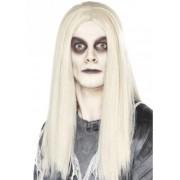 Smiffys Witte spoken pruiken Halloween