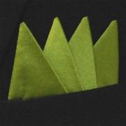 Färdigvikt bröstnäsduk Fyrspets FN314 Olivgrön