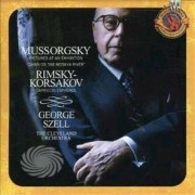 Video Delta Mussorgsky/Rimsky-Korsakov - Pictures At An Exhibition/Cap Espagnol - CD
