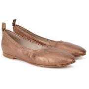 Clarks Grace Mia Bronze Metallic Bellies For Women(Bronze)