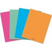 Caiet A5 36 file - 80g-mp liniat stanga coperta PP transparent color AURORA - matematica