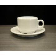 Tazzina in porcellana per espresso Capacità cl. 8 Dimensioni ø mm. 65x50h Confezione da 1 pezzo Serie Milano Modello 103-080
