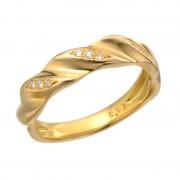 24K ダイヤモンド デザイン リング 「リード」【QVC】40代・50代レディースファッション