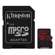 Kingston microSDXC Canvas React 100R/70W UHS-I, 512GB