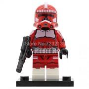 Generic Clone Trooper Figure Legoingly Imperial Army Military Stormtrooper Building Kits Blocks Brick Set Model Toys PG8097 PG772