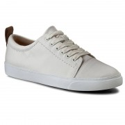 Sneakersy CLARKS - Glove Echo 261186374 White Leather