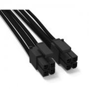 Cablu modular 8-pini (4+4) EPS/ATX12V Be Quiet! CC-4420, 45cm, BC060