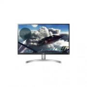 """LG UHD Monitor 27"""" - 27UL600-W 3840x2160, 16:9, 350 cd/m2, 5ms, HDMIx2, DisplayPort, hangszóró, VESA DisplayHDR400"""