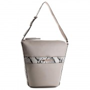 Táska CALVIN KLEIN BLACK LABEL - Heath3r Exotic Elongated Bucket Bag K60K602697 069
