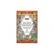Sacred animals. coloring experiences for the mystical and magical