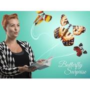 Butterfly Surprise Magic Flying Butterfly. Wind up Flutter Card. Prank Paper Butterflies