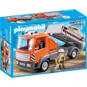Joc PLAYMOBIL Flatbed Workman's Truck