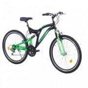 Mountin bike Factor 600 26in 18 crna-zelena
