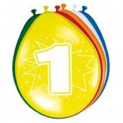 Folat 16x stuks Versiering 1 jaar ballonnen 30 cm