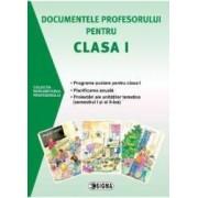 Documentele profesorului pentru clasa I 2015-2016