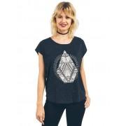 VOLCOM Damen T-Shirt Stay Cosmic schwarz M