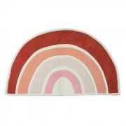 LILIPINSO Tapis coton Arc-en-ciel Orange - 120 x 70 cm