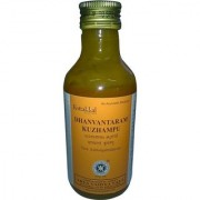 Dhanwantharam Tailam This oil is used for massage for ladies after delivery to improve body strength.