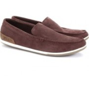 Clarks Medly Sun Burgundy Loafers(Brown)