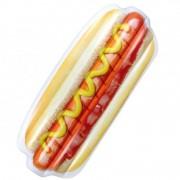 Geen Opblaasbaar hotdog luchtbed 200 x 80 cm