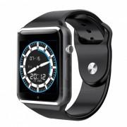 GW05 3G Wisconsin-Fi GPS Bluetooth V4.0 Reloj de telefono inteligente usable-Gris
