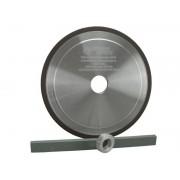 Schleifscheibe Profiausführung HM 145mm x 22,3mm/12mm x 3,2 mm passend für Hartmetall Duro