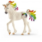 Schleich North America Rainbow Unicorn Foal Toy Figure