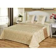 3 részes ágytakaró szett 200x220 cm - krém